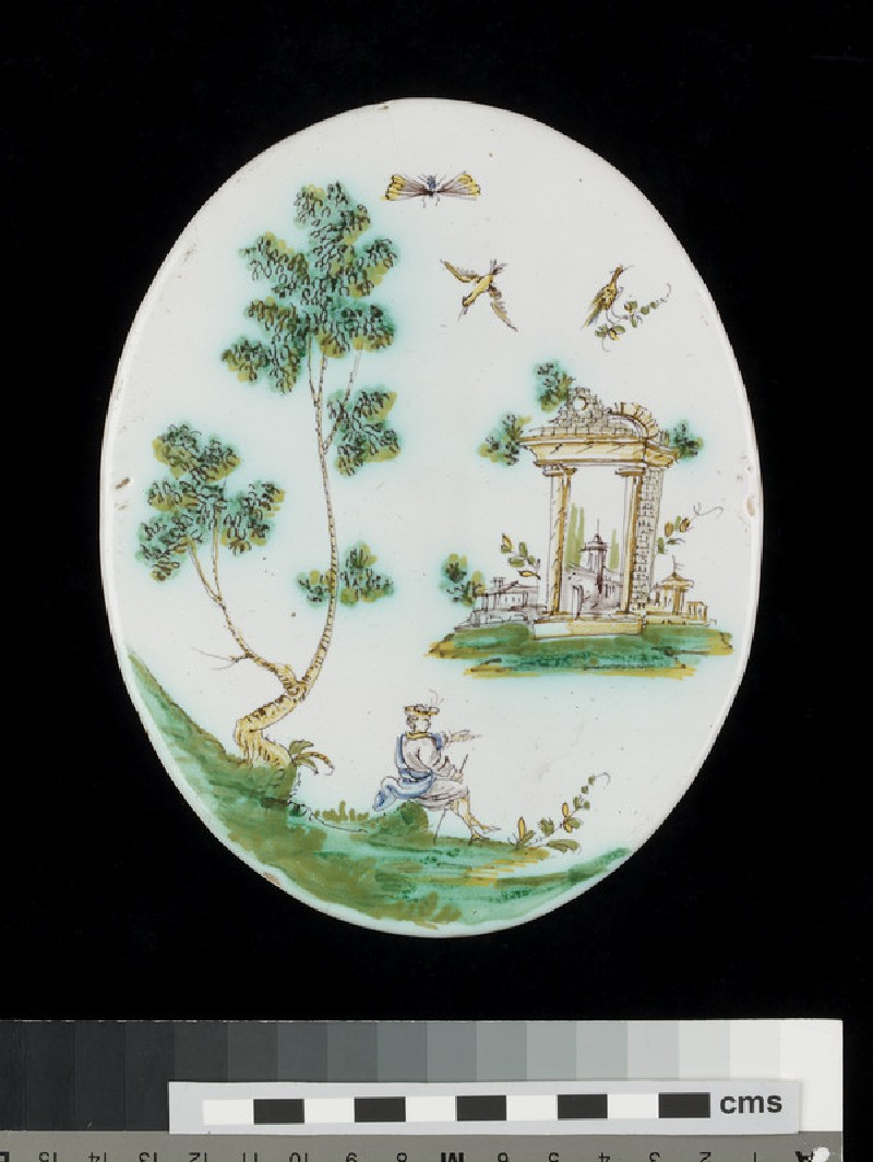 Oval plaque (WA1920.70)