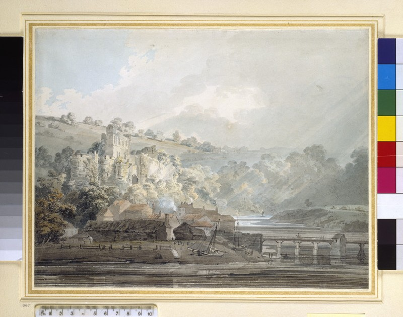 View of Chepstow, Monmouthshire