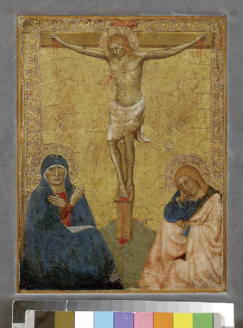 The Crucifixion with the Virgin Mary and St John (WA1921.3)