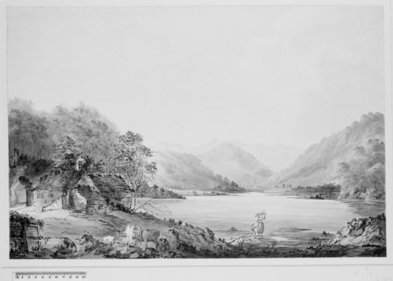 Ullswater looking towards Patterdale (WA1922.5)