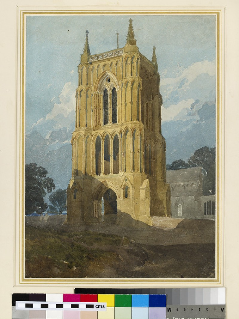 The Tower of West Walton Church, Norfolk (WA1923.4)