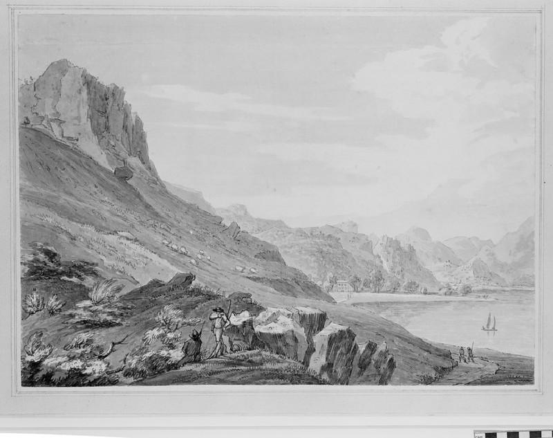 Castle Crag upon Derwentwater