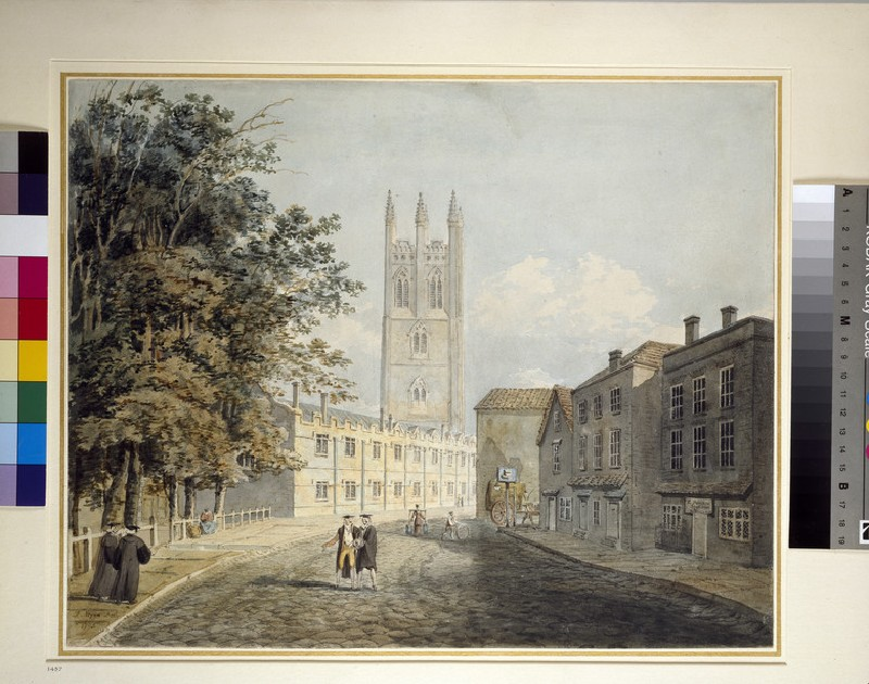 Magdalen College and the Eastern End of the High Street, Oxford