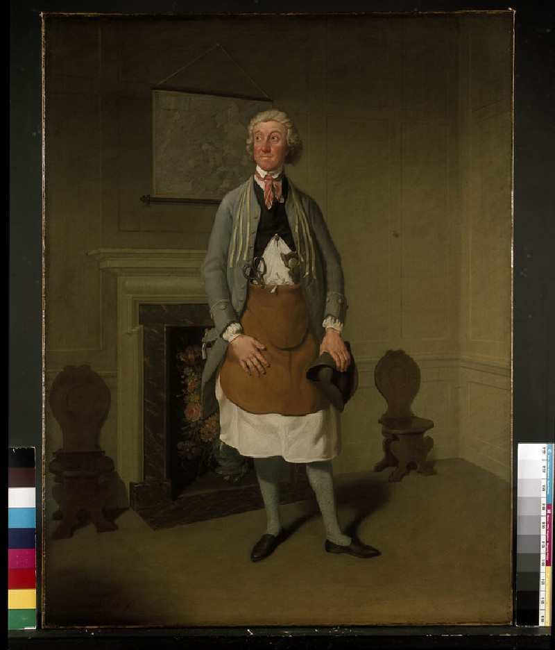Mr Suett as Dicky Gossip in 'My Grandmother'