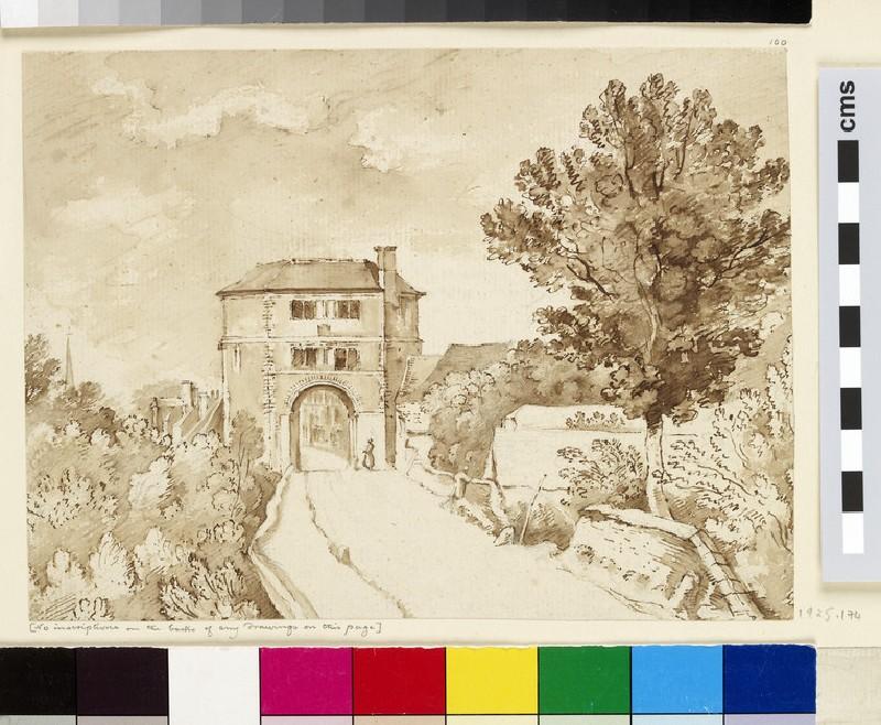 Friar Bacon's Study, Folly Bridge (WA1925.174)