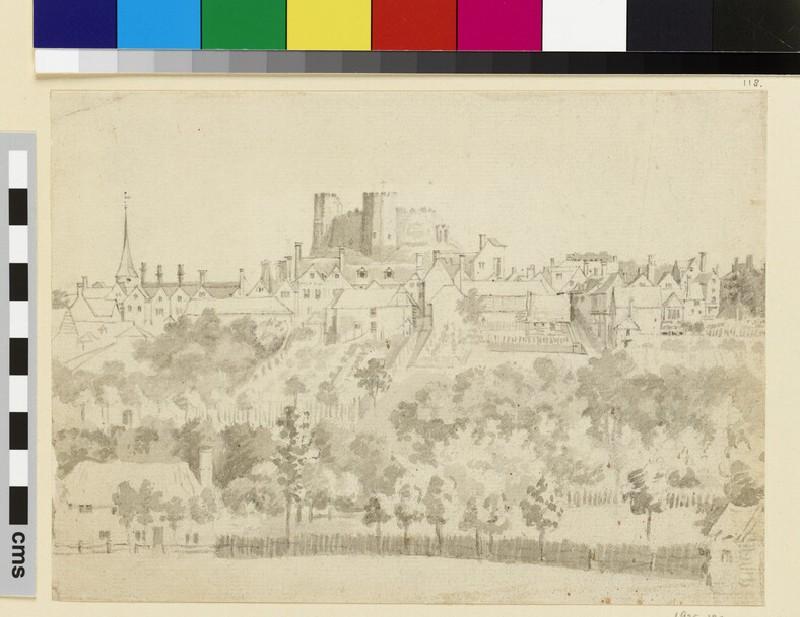 A Hillside Town (Lewes) (WA1925.192)