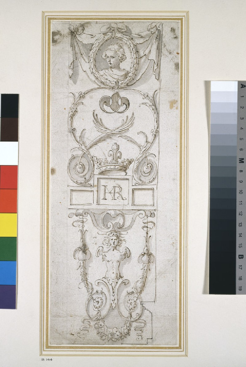 Design for a Decorative Panel (WA1925.336)