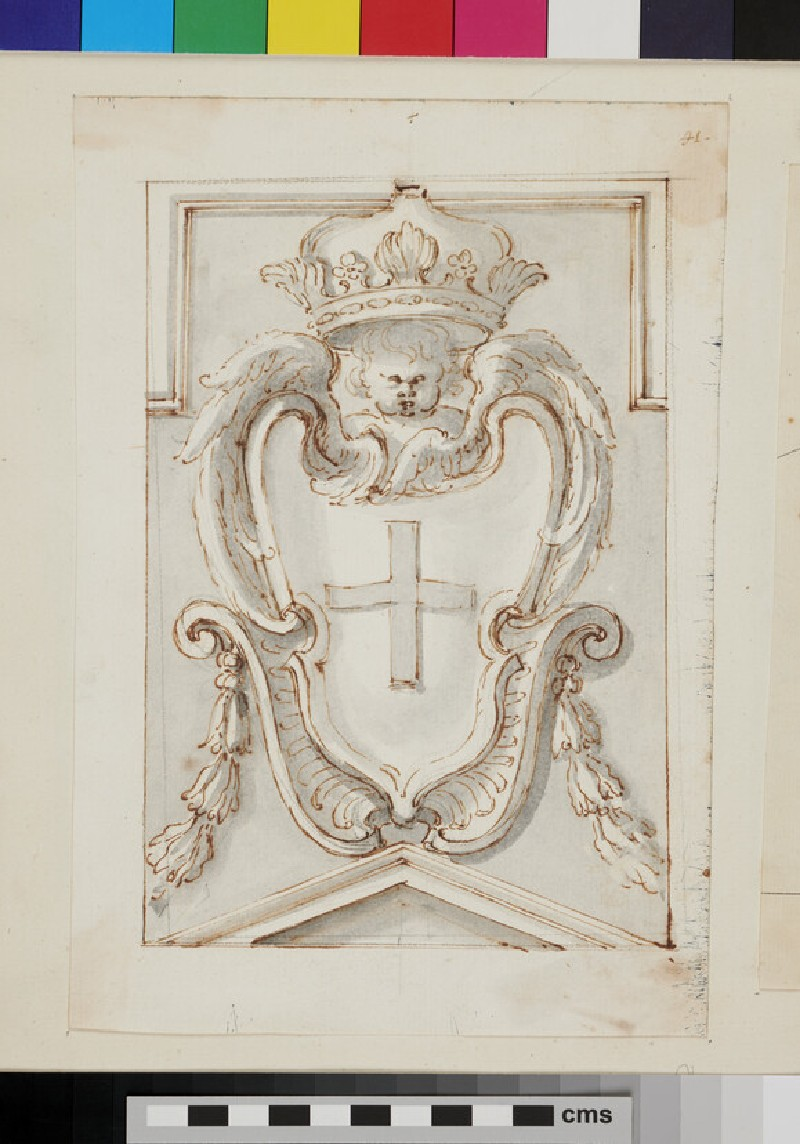 Design of the arms of a Prince of the house of Savoy