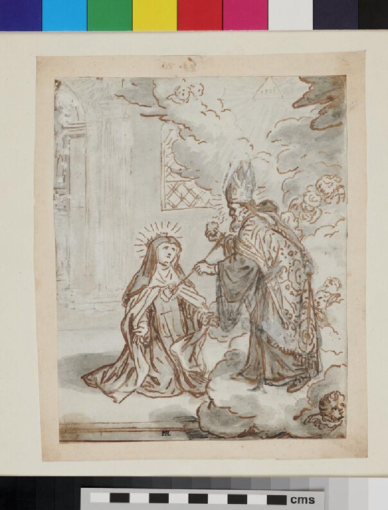 Four figures in Renaissance clothes