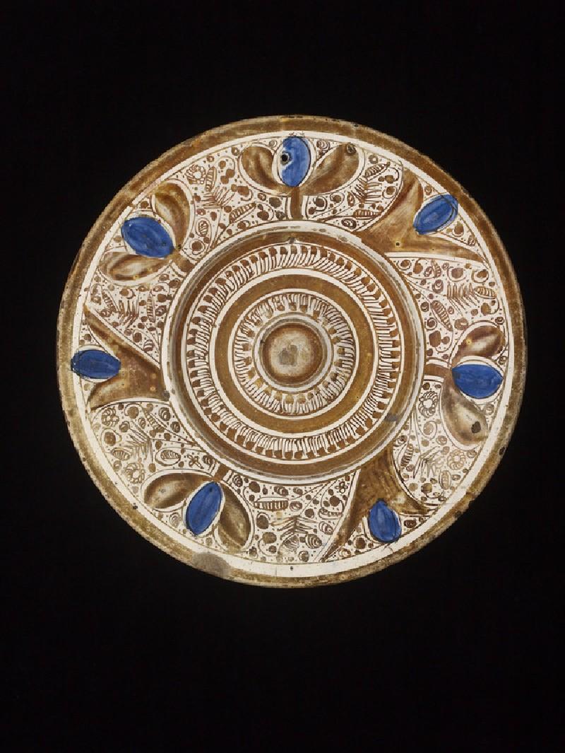 Plate (ewer stand) (WA1929.193)