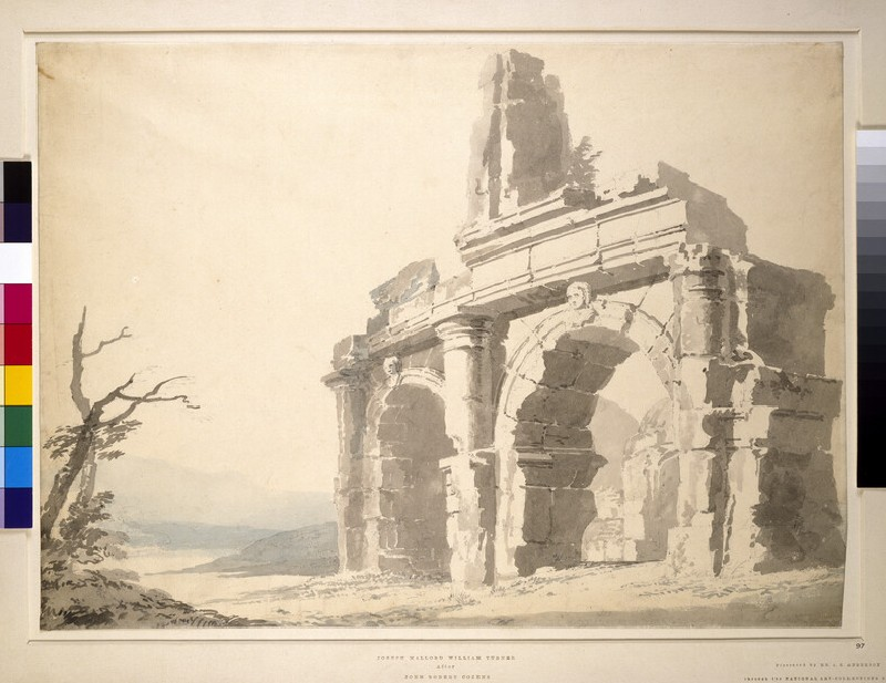 The Entrance to the Amphitheatre at Capua (WA1931.10)