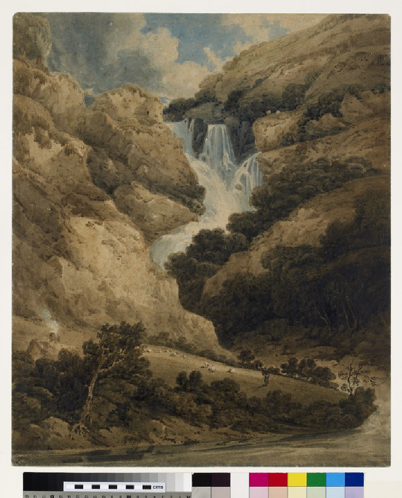 The Falls of the Ogwen, North Wales (WA1931.11)
