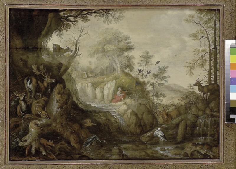 Elijah at the Brook Kerith