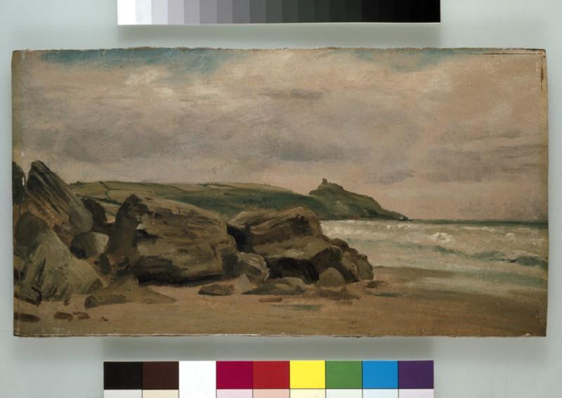 View towards Rame Head, Cornwall (WA1931.3)