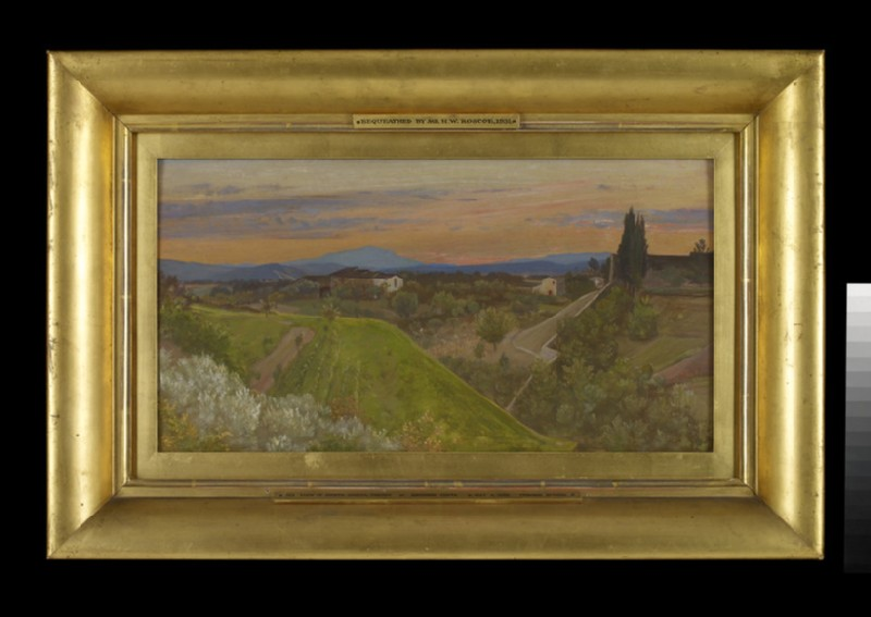 View of Monte Amiata, Tuscany (WA1931.57)