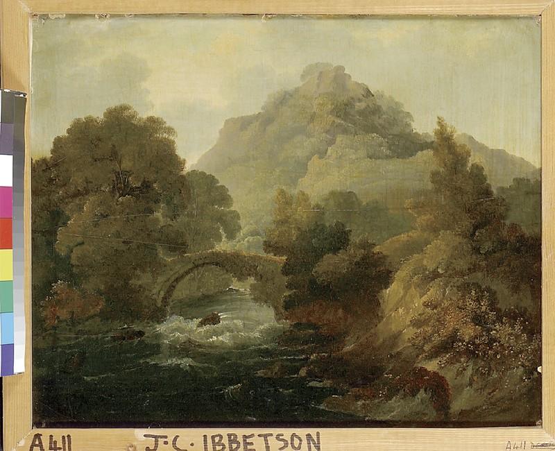 Mountain Torrent and Bridge (WA1931.58)