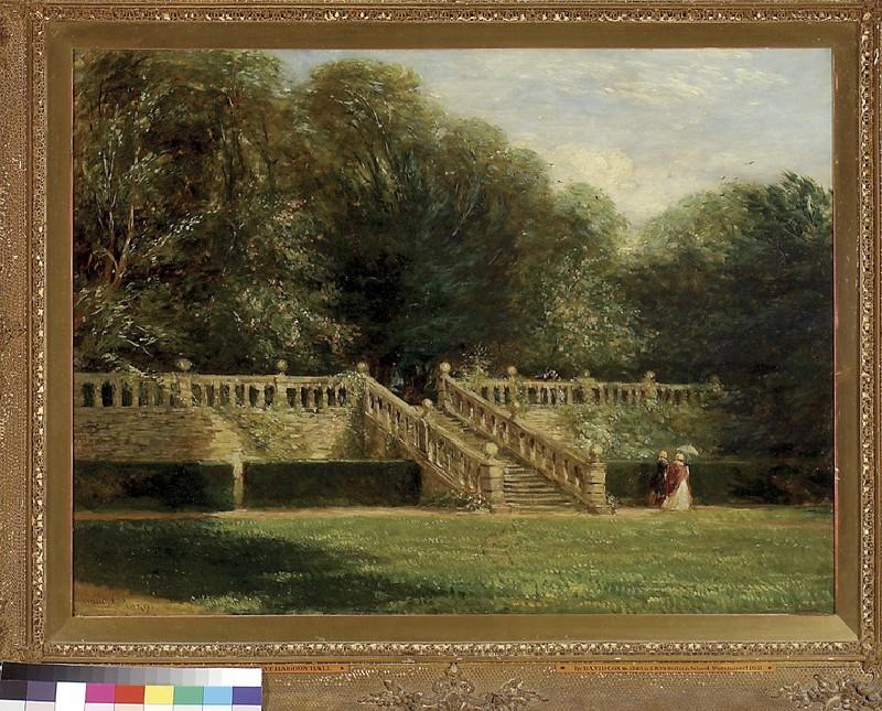 The Garden Terrace at Haddon Hall