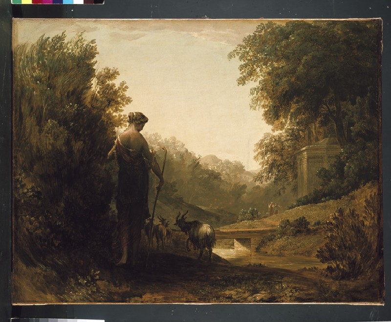 Classical Landscape with a Goatherd (WA1932.196)