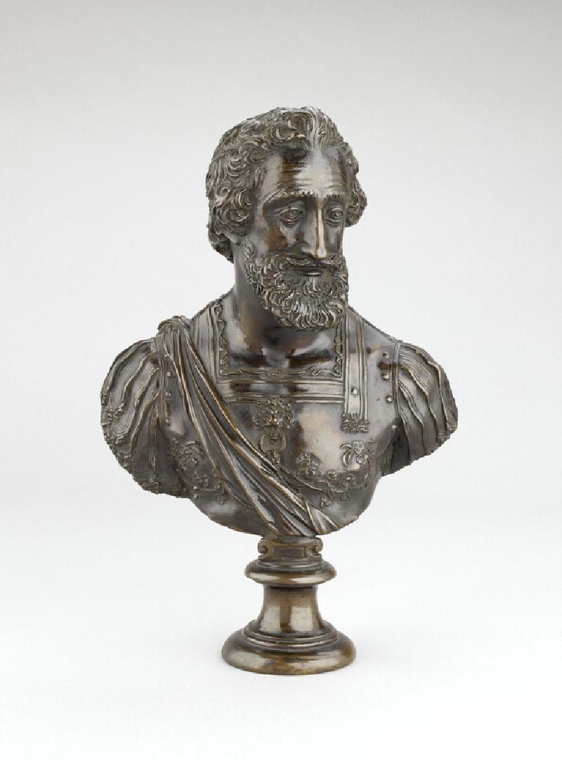 Portrait bust of King Henri IV of France (WA1932.222)
