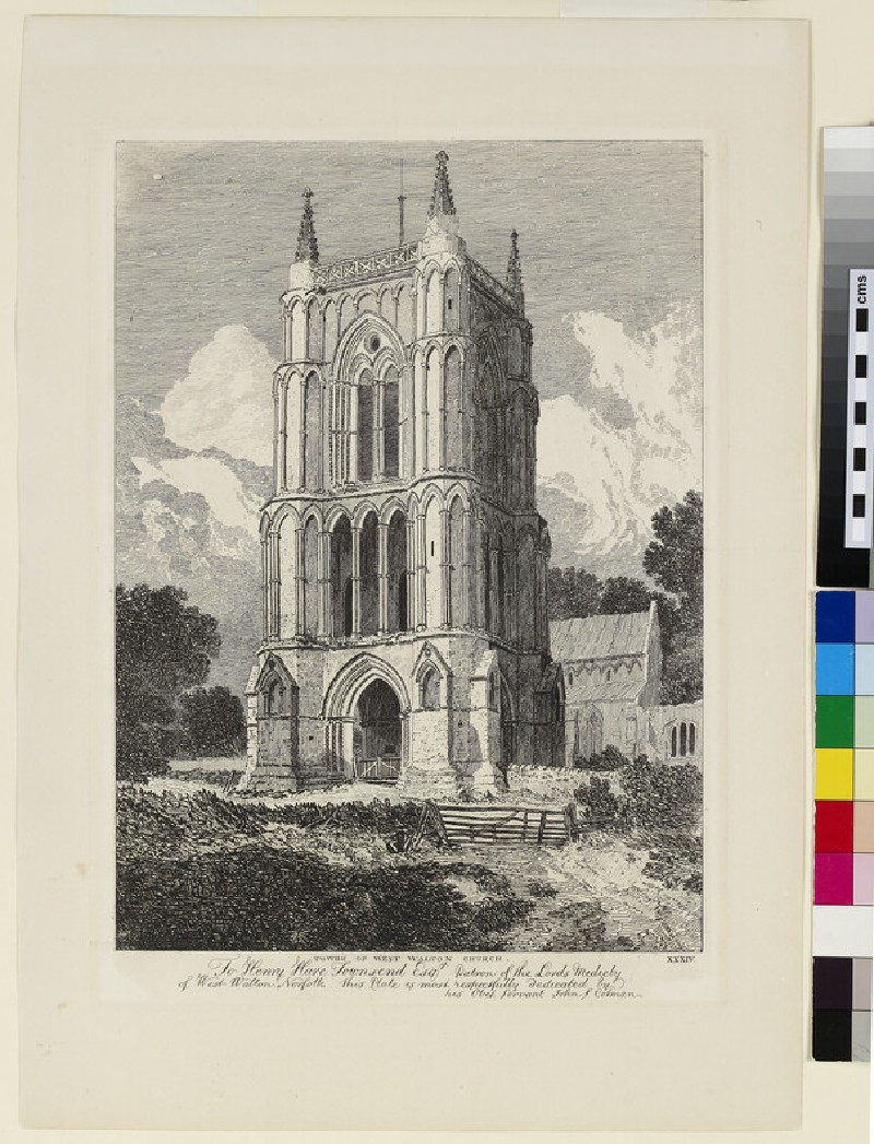 Tower of West Walton Church, Norfolk