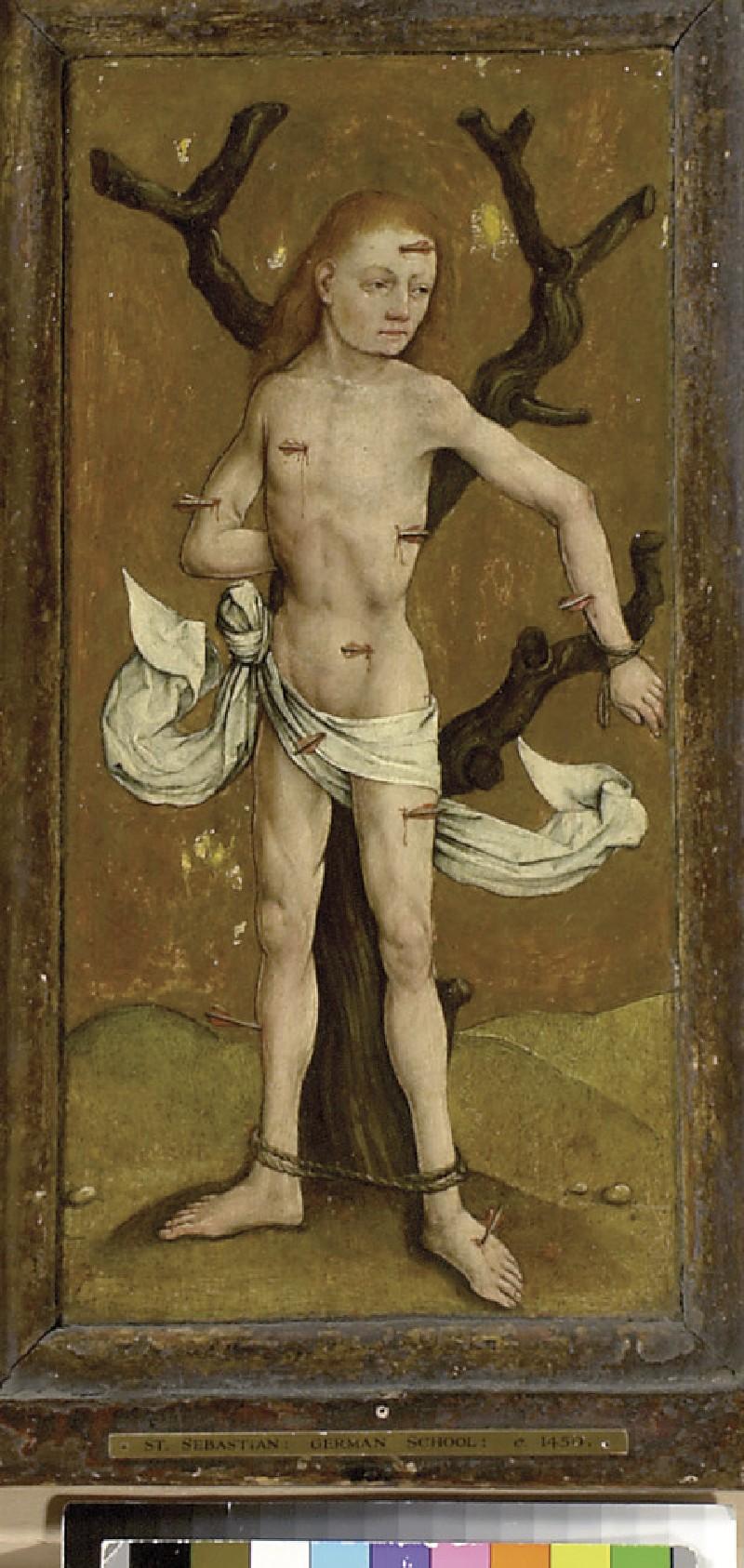 St Sebastian (WA1933.22)