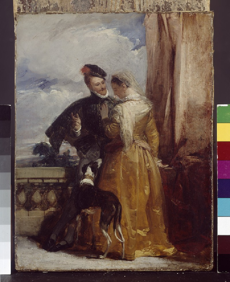Amy Robsart and the Earl of Leicester (WA1933.3)