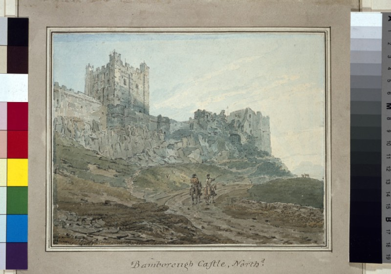 Bamburgh Castle (Bamborough), Northumberland
