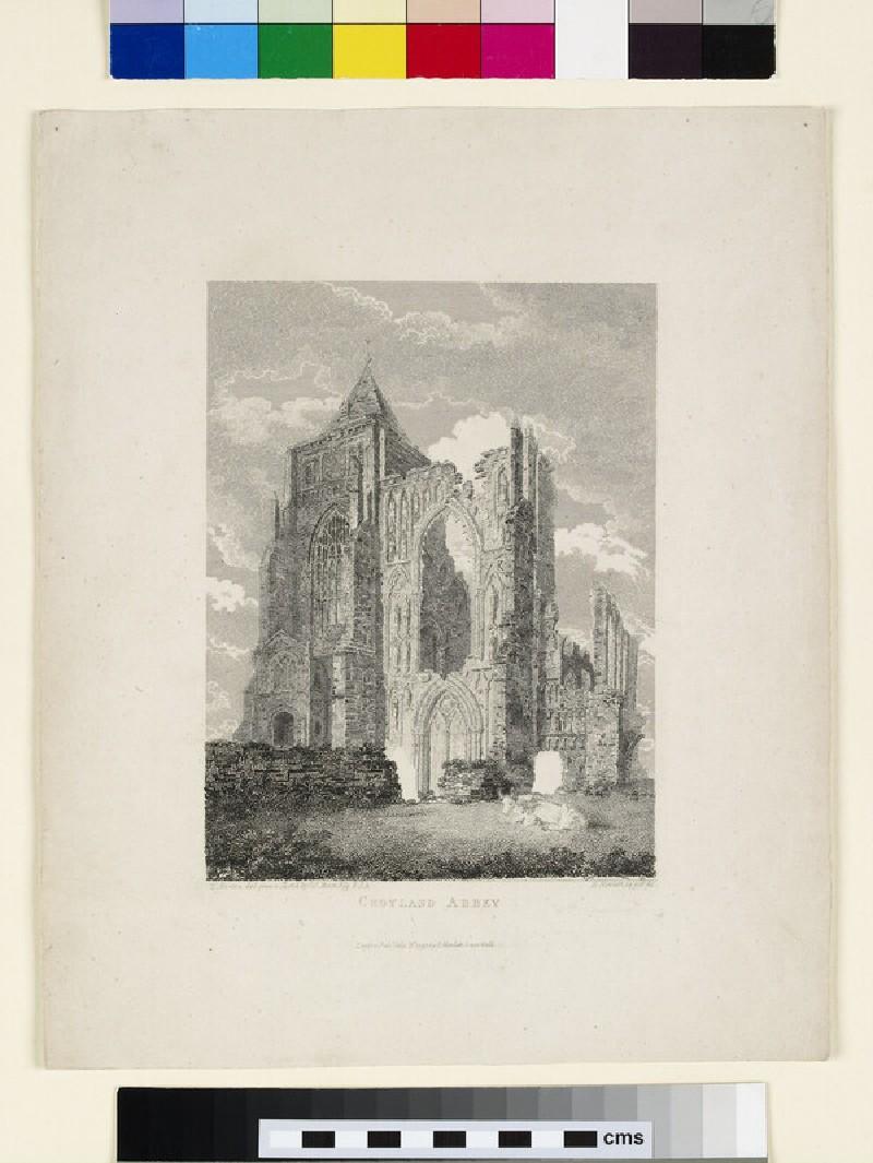 Croyland Abbey (Crowland Abbey) (WA1934.126.2, WA_1934_126_2)