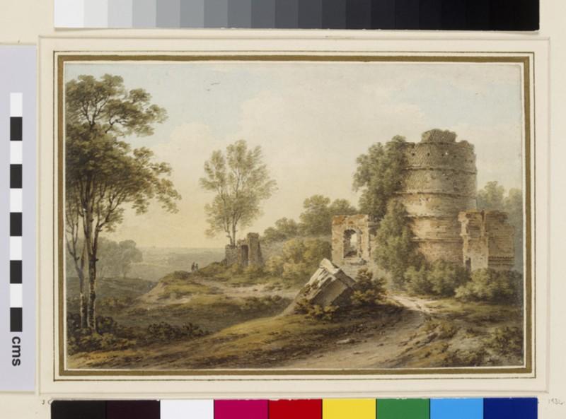 Remains of Hadrian's Villa near Tivoli (WA1934.191)