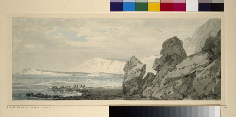Coast View with Chalk Cliffs