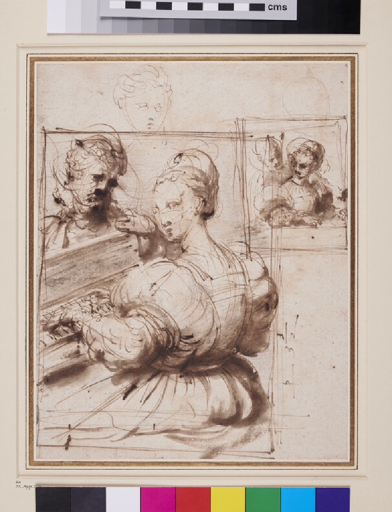 Studies for a Picture of a Lady playing the Virginals