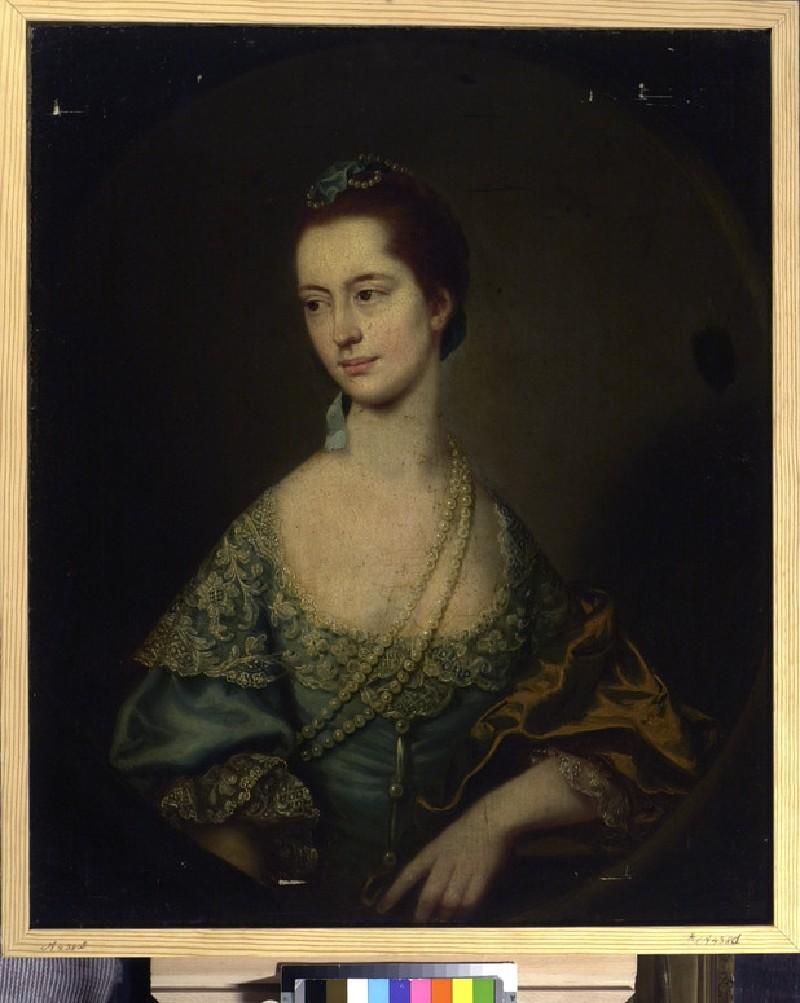 Frances Kinderley, Wife of James Smith, Junior (WA1934.421)