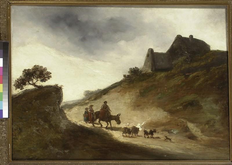 Landscape with Goatherds (WA1934.6)