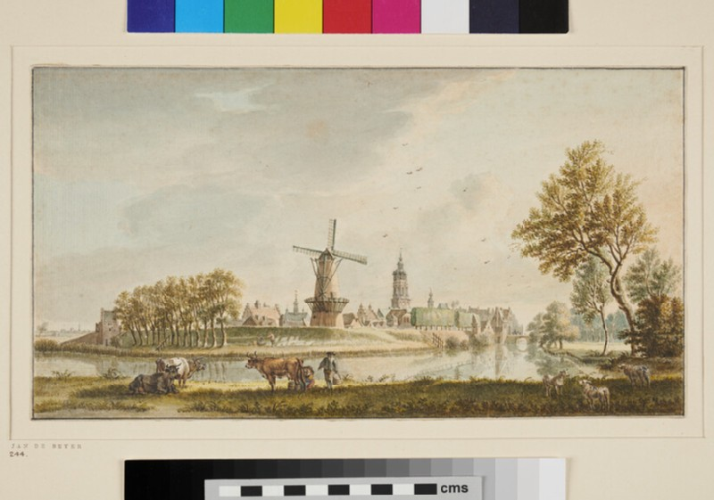 Distant View of a Town in Holland