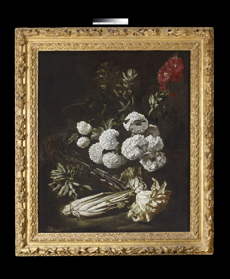 Still Life of Flowers and Vegetables (WA1934.8)