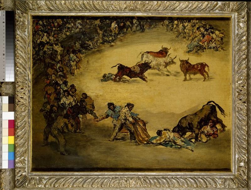 Scene at a Bullfight: Diversión de España (WA1934.9)