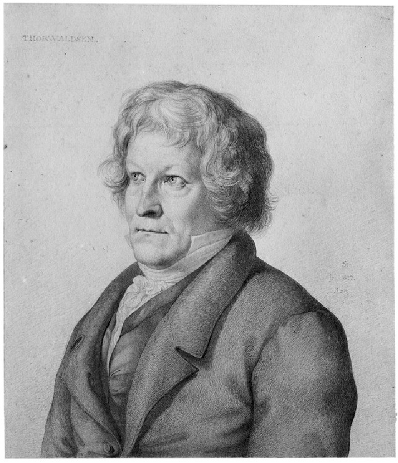 Portrait of Bertel Thorvaldsen (WA1935.111)