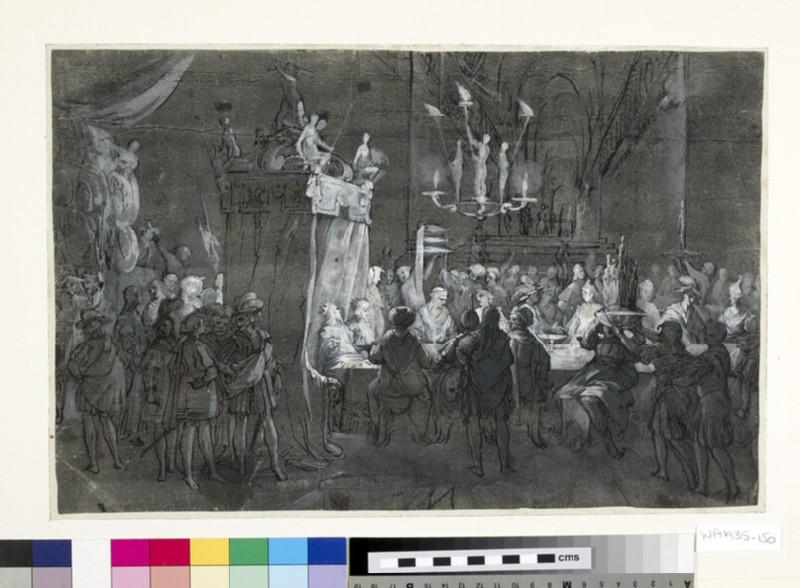 Belshazzar's Feast (Daniel 5) (WA1935.150)