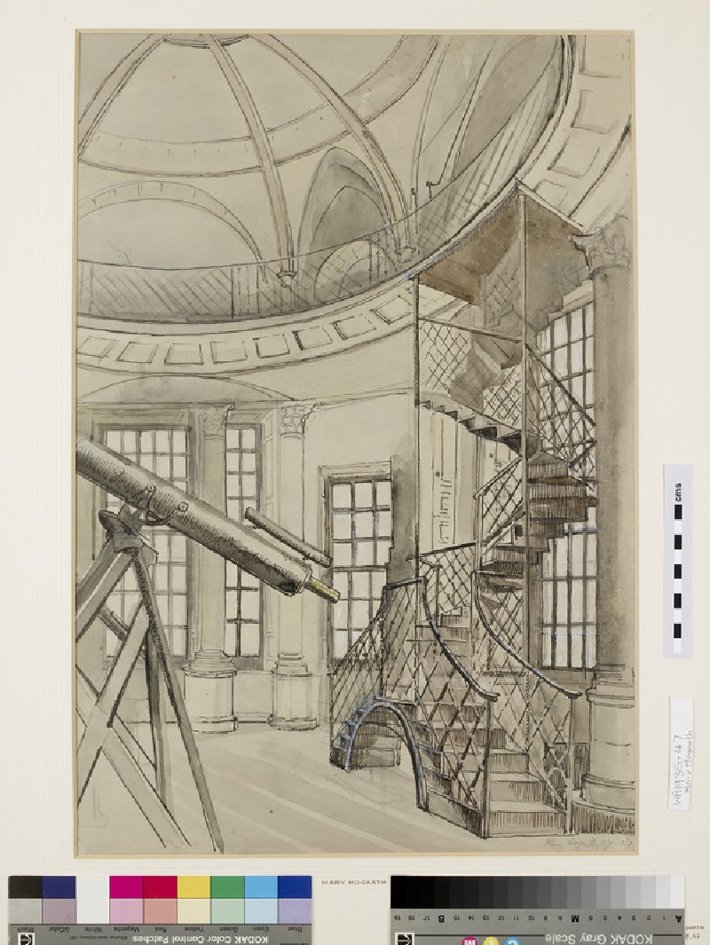 Interior of the Radcliffe Observatory