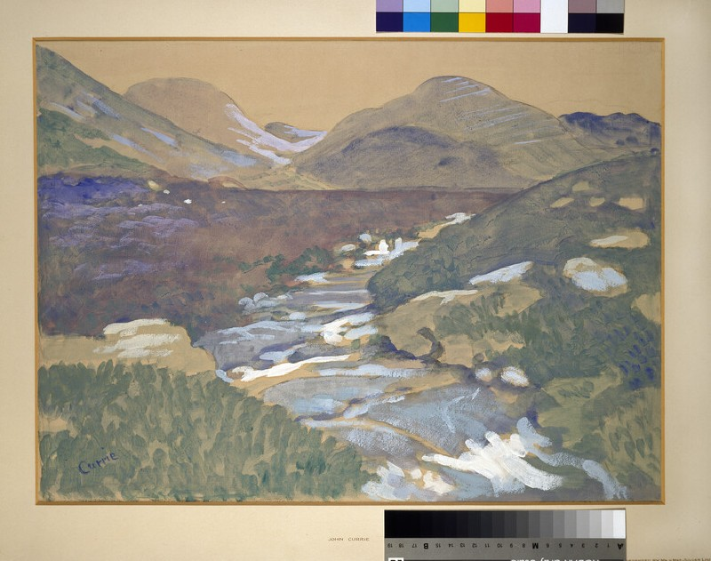 In Connemara (Mountain Landscape with a Stream)