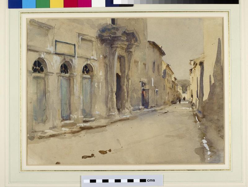 A Street in Spain (WA1935.59)