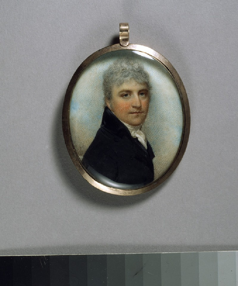 Portrait of an Unknown Man in a Black Coat (WA1936.123)