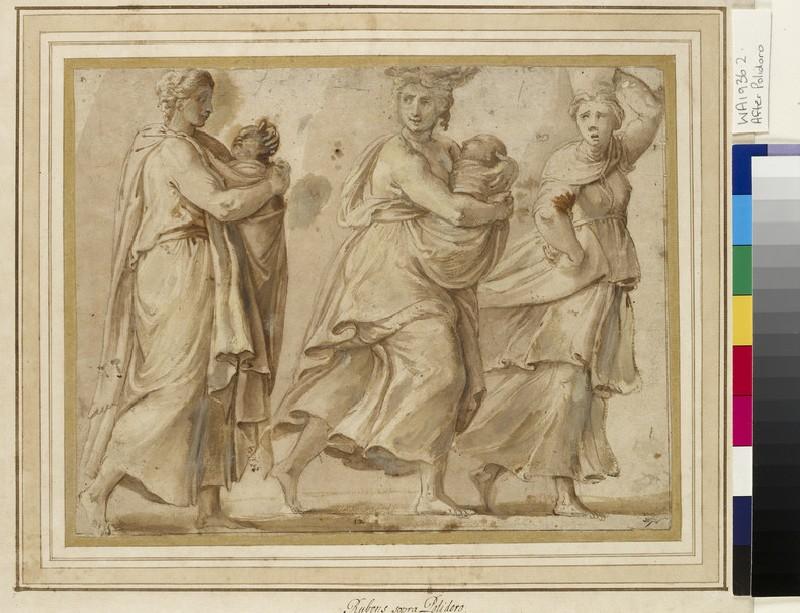 Three Women hurrying to right (WA1936.2)