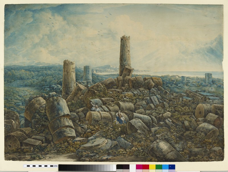 Recto: The Ruins of Selinunte