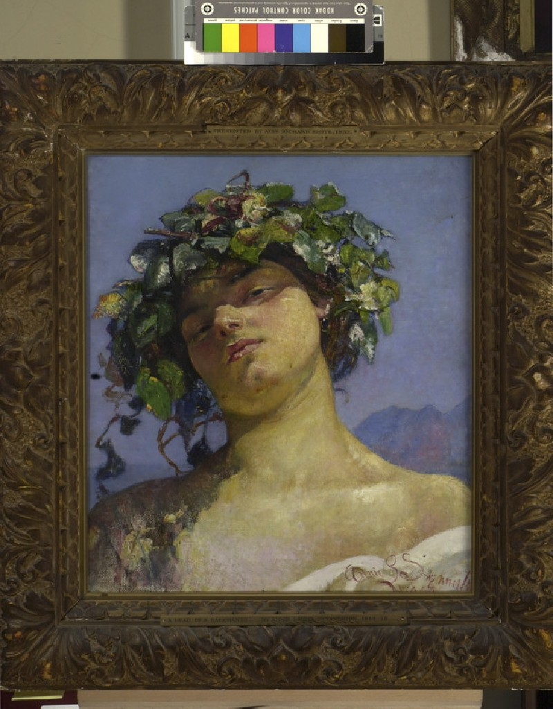 Head of a Bacchante (WA1937.118)
