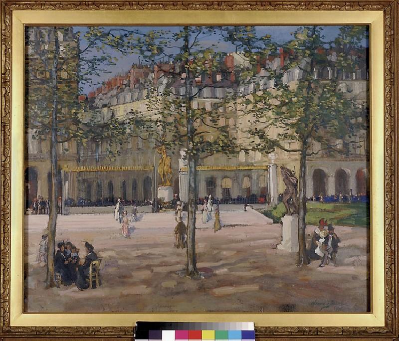Place des Pyramides, Paris (WA1937.119)