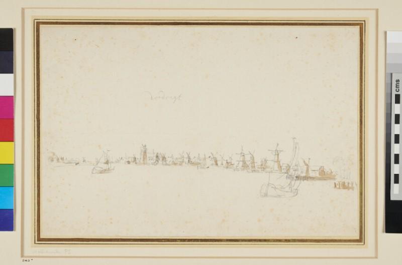 View of Dordrecht (WA1937.197.1, recto)