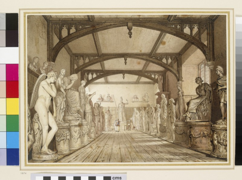 The Sculpture Gallery in the Examination Schools, Oxford (WA1937.300)