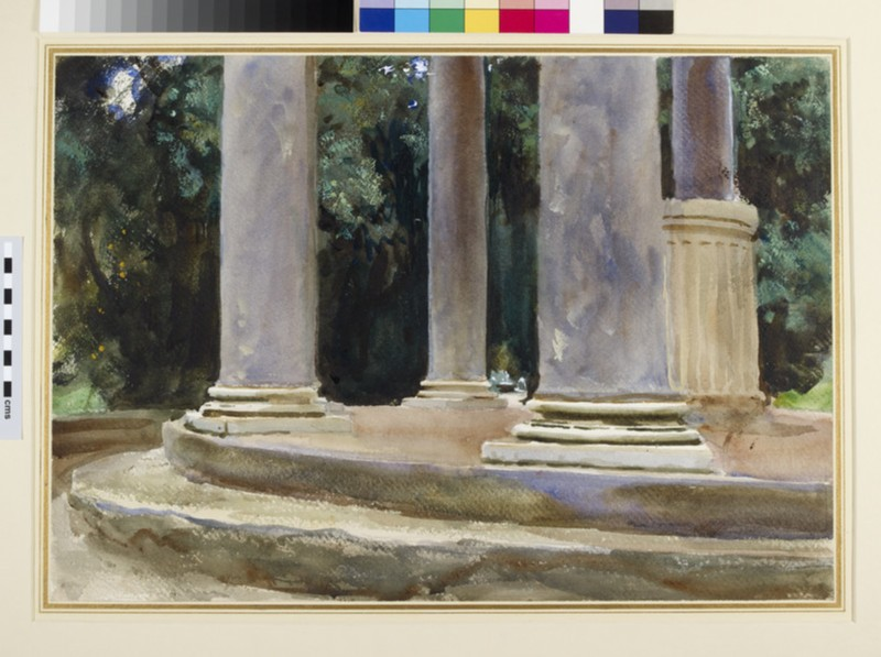 Villa Borghese, Temple of Diana (WA1937.314)