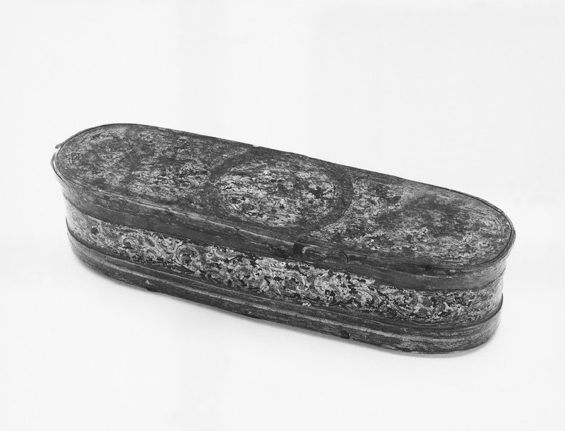 Simple oblong box with detachable lid (WA1937.317)